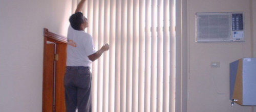 Aplicação e Manutenção de persianas e cortinas em são paulo